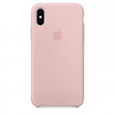 Чехол для iPhone Apple iPhone X Silicone Case Pink Sand